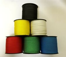 CLEARANCE ROPE ! Minispool. 30m x 2.5mm polyester cord. Various colours