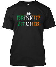 St Patricks Day Drink Up Bitches Hanes Tagless Tee T-Shirt