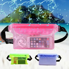 Waterproof Bag Underwater Pouch Waist Pack Swimming Dry Case For Cell Phone XG