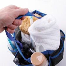 Travel Carry Storage Pouch Bath Caddy Hanging Quick Dry Bag Shower Tote Mesh