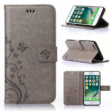 Leather Wallet Flip Case Cover Stand Card Holder For Apple iPhone 6s 7 Plus