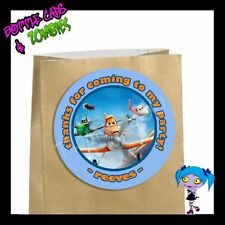 Disney PLANES Birthday Party Favor Goody Bag STICKERS - Personalized Stickers