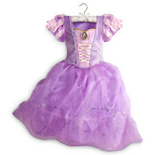 Disney Store Rapunzel Costume Dress Tangled Princess 2015 NEW Gown 4 5/6