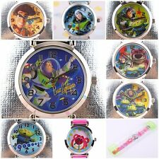 JAPAN DISNEY PIXAR TOY STORY BUZZ WOODY 3D SILICONE BAND CHILD WATCH  TS-3K1119P