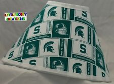 MICHIGAN STATE UNIVERSITY LAMP SHADE (Made by LBC) SHIPS WITHIN 48 HOURS!