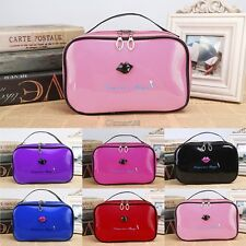 New Women Makeup Bag Travel Cosmetic Cases Small Organizer Ladies Cosmetic OK06