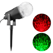 Excelvan Kaleidoscope Projector Rotating LED Light 2 Colors Switchable Red &
