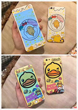 Lazy Egg B.Duck Case Cover Skin + Screen Protector For iPhone 6/6S Plus 7/7 Plus