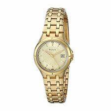 Pulsar  Ladies Analog Watch Casual Gold Band PXT830