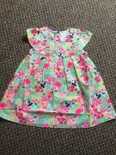 Girls Exstore Flamingo Summer Dress Sizes 6 - 24 months - New without Tags!!!