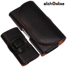Universal PU-Leather Pouch Belt Clip Loop Hip Case Cover for LG and Nokia Phones
