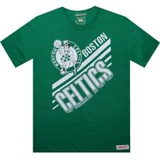 $42 Mitchell And Ness Premium Boston Celtics Blank tee shirt kelly