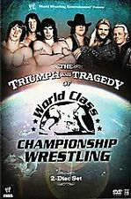 WWE - The Triumph and Tragedy of World Class Championship Wrestling (DVD,...