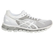 NEW WOMENS ASICS GEL-QUANTUM 360 KNIT RUNNING SHOES TRAINERS WHITE / SNOW / WHIT