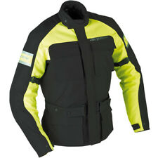 Bargain Ixon Colorado Black Fluo Textile Waterproof Touring Motorcycle Jacket