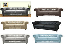 CHESTERFIELD SOFA BED 3 AND 2 SEATER SOFA BED
