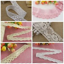 Wholesale 10 yards delicate cotton Crochet lace trim for DIY/sewing/craft