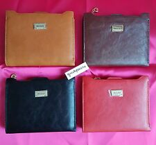 Brand New Ladies Pu Leather Bogesi Id/Credit Card Holder Bifold Wallet-