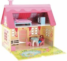 New! ELC Rosebud Cottage, School & Wooden castle, Pirate Ship or Cup Cake Doll