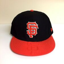 NewEra MLB San Francisco Giants ELEVISE *7 5/8* Big 59FIFTY Fitted Cap Size Hat