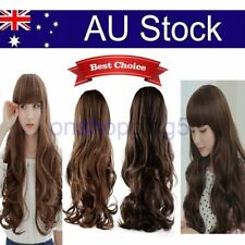 Lovely Cosplay Big Wig Long Wavy Curly Synthetic Hair Party Full Hair Wigs OP