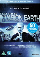 Roger Avon, Geoffrey Cheshire-Daleks - Invasion Earth 2150 A.D.  DVD NEW