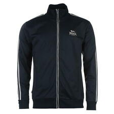 Lonsdale Mens Track Jacket Tracksuit Top Navy/Grey New With Tags