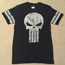 THE PUNISHER Frank Castle SKULL movie Comic BOOK Marvel New MENS Costume T-Shirt