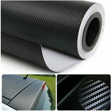 3D Black Carbon Fiber Film Twill Weave Vinyl Sheet Roll Wrap 30*127cm 11 Colors