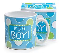 BABY BIRTH ANNOUNCEMENT MUG, Ceramic, It's A Boy or Girl, Choose Your Style!