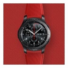 Official Samsung Gear S3 Active Silicon Strap - Red