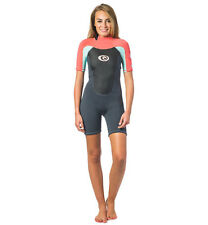 Rip Curl Womens Omega 1.5mm Shorty Wetsuit - Coral