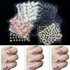 3D Design Decal Stickers 30 Sheets /50 Sheets Colorful Nail Art Manicure LM01