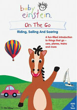Baby Einstein Dvd On The Go - Riding Sailing And Soaring (DVD, 2005)