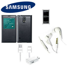 Original OEM Samsung S-View Wireless Charging Cover for Galaxy S5