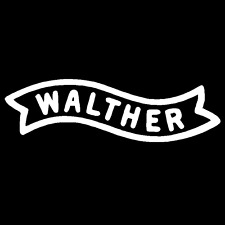 Walther Logo Vinyl Decal Car Truck Window Sticker Gun Rifle Pistol Firearm Hunt