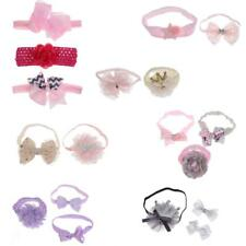 Baby Girls Toddlers Bowknot Flower Elastic Hair Band Headbands Hair Accessories