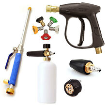 High Pressure Washer Wand Gun Turbo Spray Nozzle Hose For Car Garden House Clean