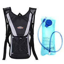 2L Hiking Backpack Hydration Pack w/ Water Bladder Cycling Climbing Camping Bag