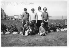 Vintage Old Photograph Black & White Photo Children Holiday Fashion Scarborough