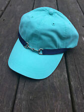Equestrian ADAMS Low Profile Baseball Cap with Snaffle Bit and Ribbon