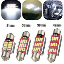 Canbus NO ERROR 31 36 39 42mm 4014 LED Dome Festoon Interior Number Plate Light