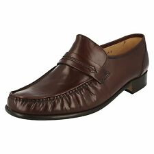 Grenson 'Watford' A Gents Brown Leather True Moccasin Slip On Loafer Shoe. G Fit