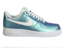 NEW MENS NIKE AIR FORCE 1 LV8 BASKETBALL SHOES TRAINERS FRESH MINT / SUMMIT WHIT