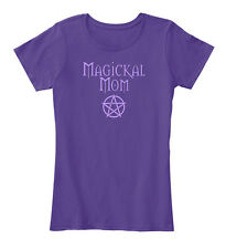 Pagan Wiccan Magickal Mom Mother's Day Women's Premium Tee T-Shirt