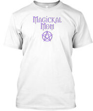 Pagan Wiccan Magickal Mom Mother's Day Premium Tee T-Shirt
