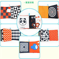 Kid Animal Cloth Book Infant Baby Intelligence Development Toy Cognize Books A,