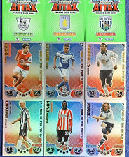 MATCH ATTAX 2010/11 EXTRA  FOOTBALL CARDS MAN OF THE MATCH