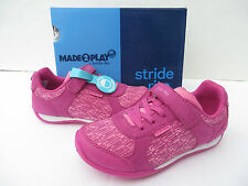 Stride Rite Girls Sneakers Shoes Molly Pink 8 9 10 W Little Kid Toddler Washable