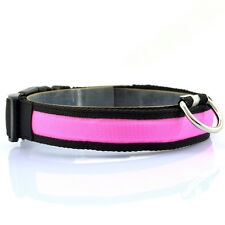 Night Safety LED Glow Twinkle Pet Dog Cat Collars Led Collars for Small Dogs